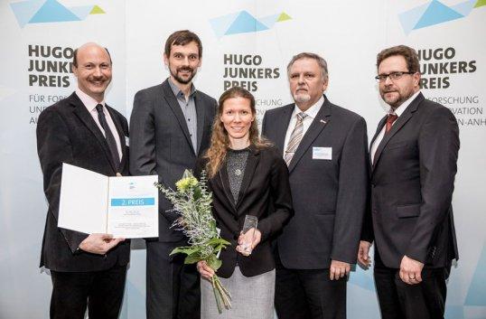 2. Platz beim Hugo-Junkers-Preis 2016 für die ZPVP © www.AndreasLander.de