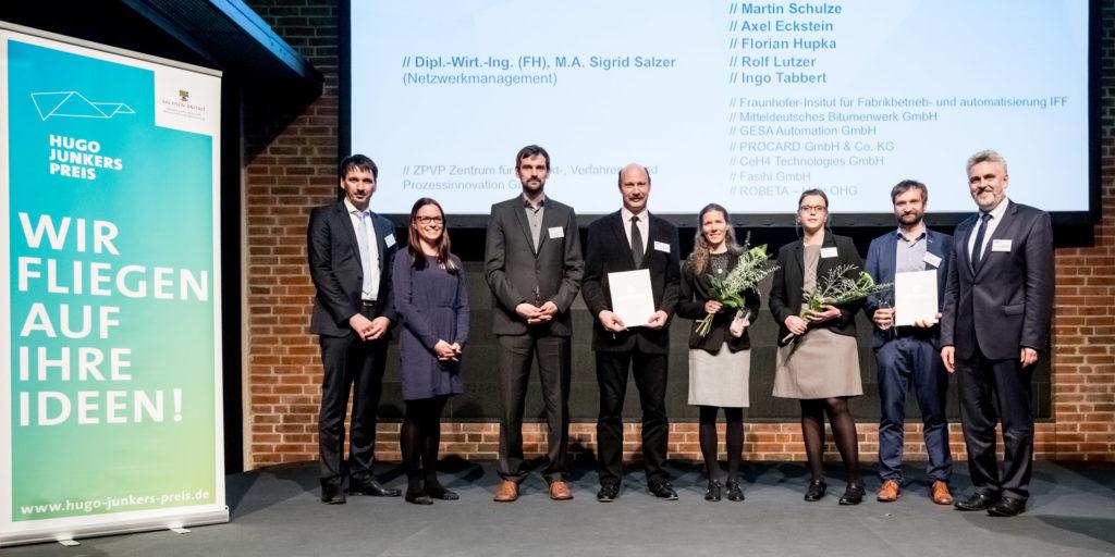 Bild der Preisträger © www.AndreasLander.de