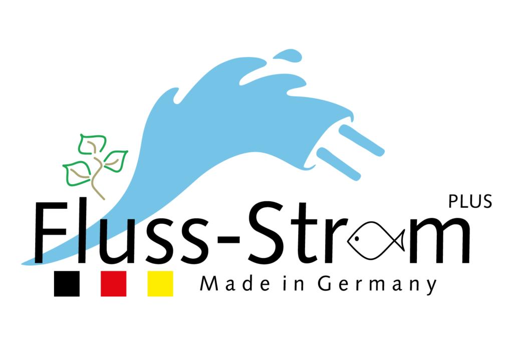 Logo des Wachstumskerns Flussstrom-Plus