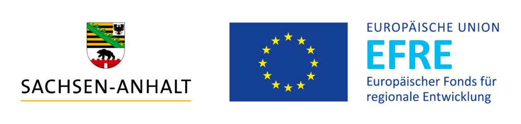 Gefördert aus Mitteln des Landes Sachsen-Anhalt und aus Mitteln des Europäischen Fonds für regionale Entwicklung (EFRE)