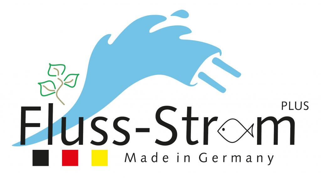"""Logo des """"Wachstumskern Fluss-Strom Plus"""""""