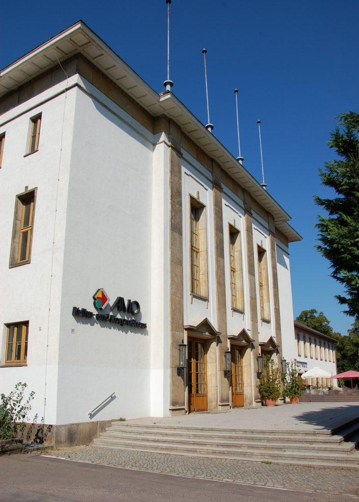 AMO Kulturhaus in Magdeburg Olaf Meister, CC BY-SA 3.0, via Wikimedia Commons